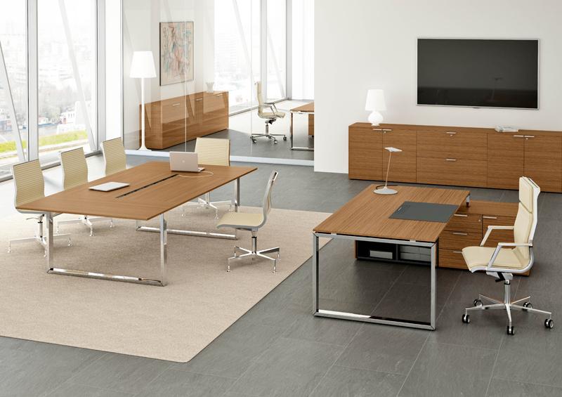 Büromöbel design klassiker  Chefzimmer Loopy, hochwertige Büroeinrichtung