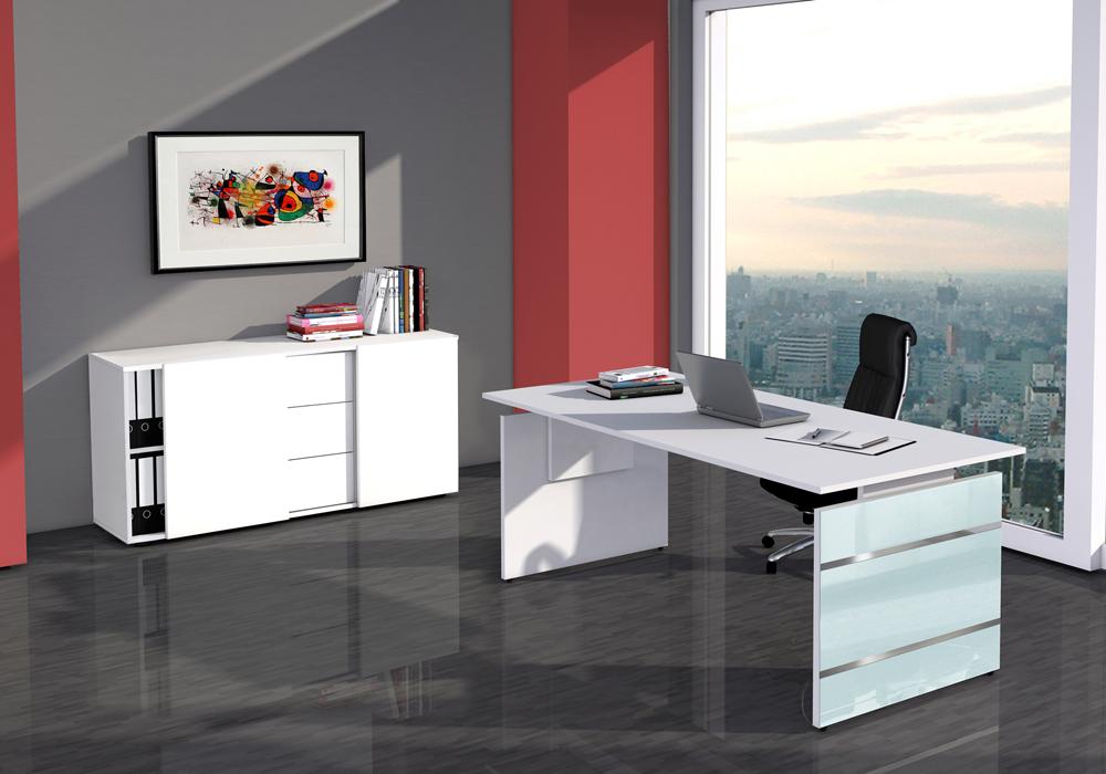 Büroeinrichtung Palermo, Büromöbel sofort lieferbar