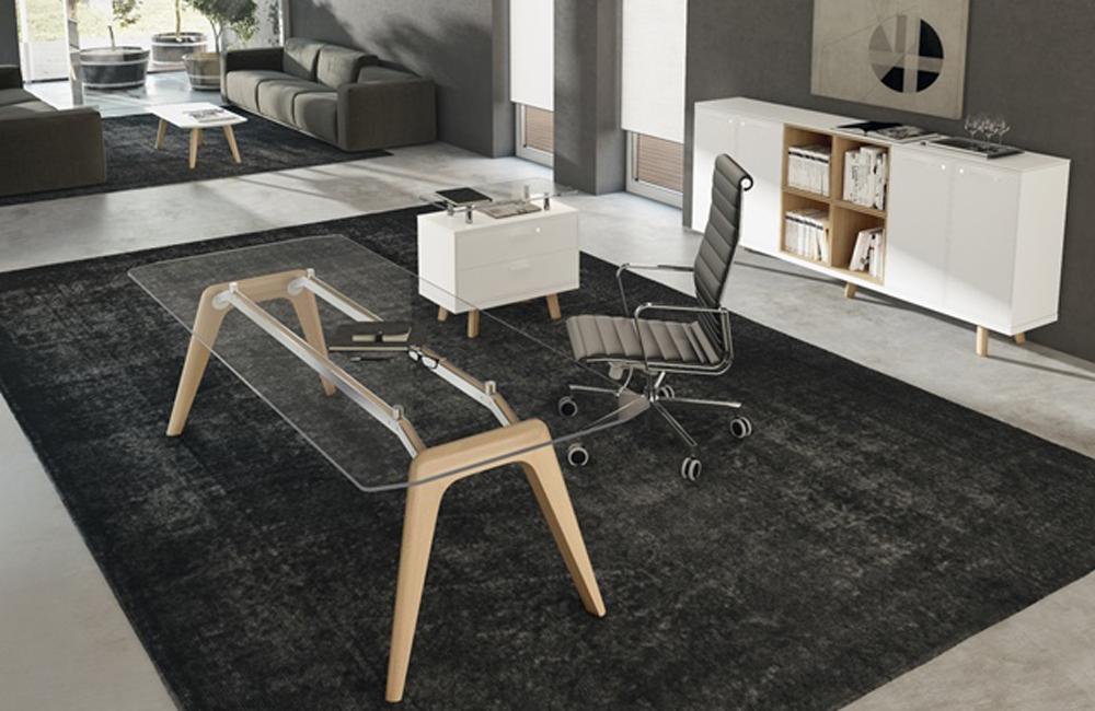 Chefzimmer RAIL, Luxus Büroeinrichtung, Managerbüro