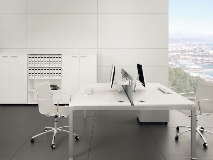 Schreibtisch f r 2 personen gate klassiker direkt for Schreibtisch 2 personen