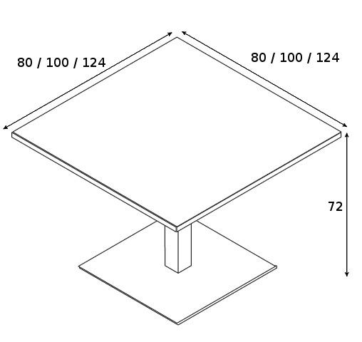 Besprechungstisch Gate-7