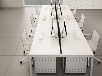 Schreibtisch für 6 Personen GATE