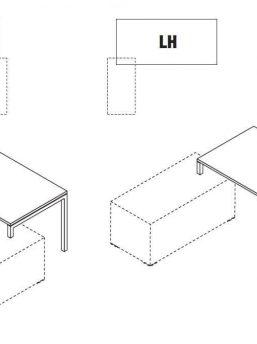 Schreibtisch-mit-Sideboard-Gate-Ausrichtung