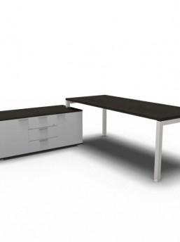 Schreibtisch mit Sideboard_4