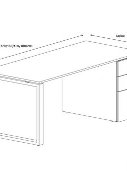 Schreibtisch-mit-Unterbaucontainer-Loopy-Abmessungen