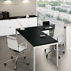 Winkelschreibtisch-Gate-Schreibtisch-mit-Anbautisch