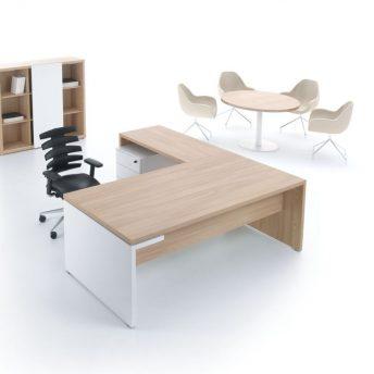 Schreibtisch mit Anbautisch Faro