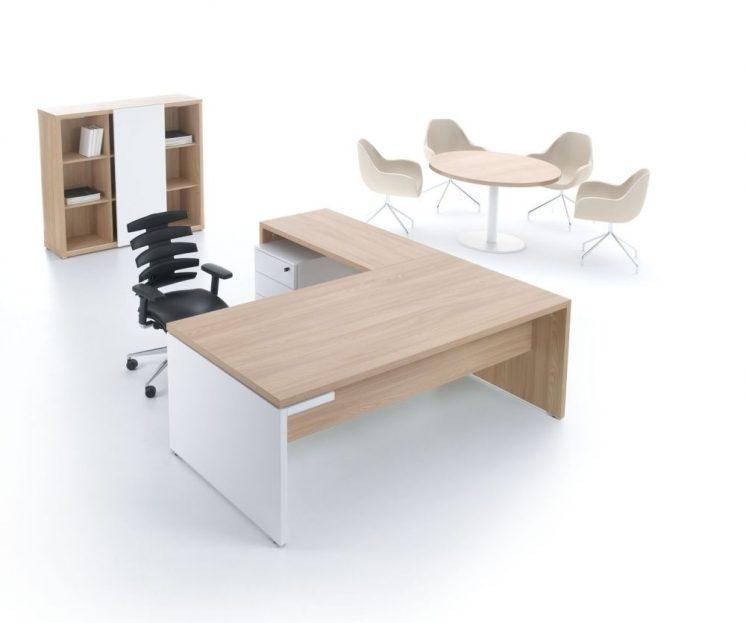 Schreibtisch mit Anbautisch MIto