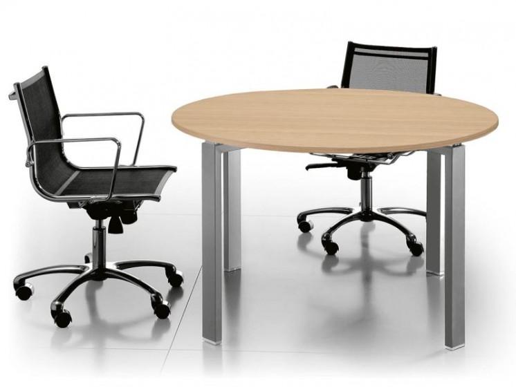 Runder Meetingtisch