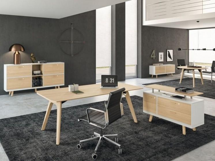 Design Schreibtisch Rail