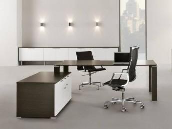 Schreibtisch JET mit Sideboard
