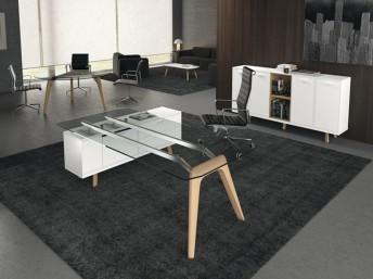 Chefzimmer rail luxus b roeinrichtung managerb ro for Arredo ufficio direzionale offerte