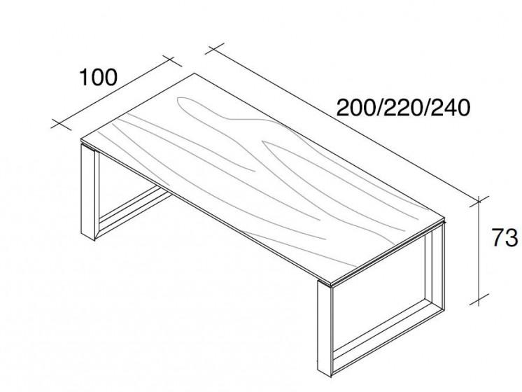 Schreibtisch Arche 6