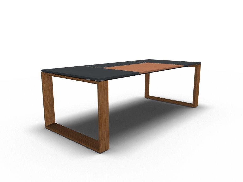 schreibtisch leder arche chefzimmer b rom bel. Black Bedroom Furniture Sets. Home Design Ideas