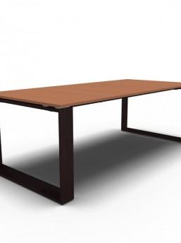 Schreibtisch Arche Leder 5