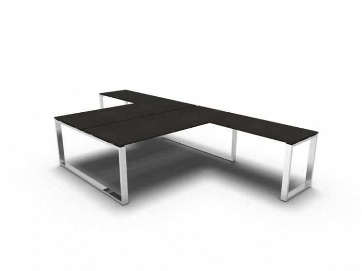 Schreibtisch für 2 Personen 2a