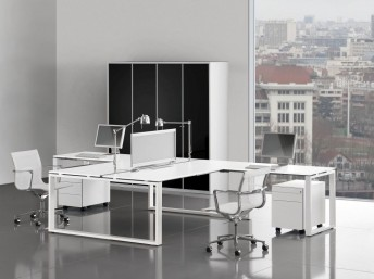 Schreibtisch LOOPY für 2 Personen