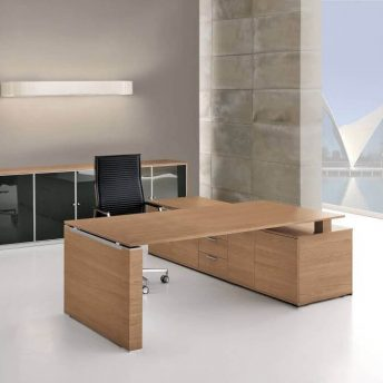 Schreibtisch-mit-Sideboard-und-Wangengestell-2