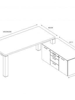 Schreibtisch-mit-kleinem-Sideboard-JET-Abmessungen