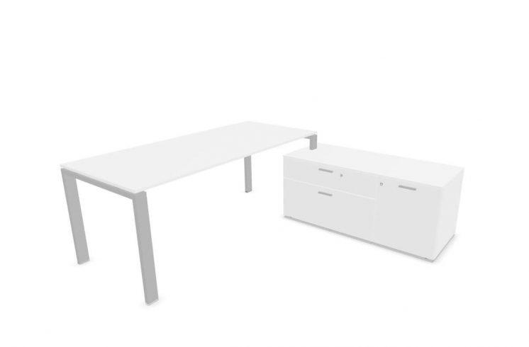Schreibtisch-mit-kleinem-Sideboard-Weiss-2