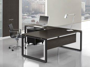Chef- Schreibtisch LOOPY Melamin