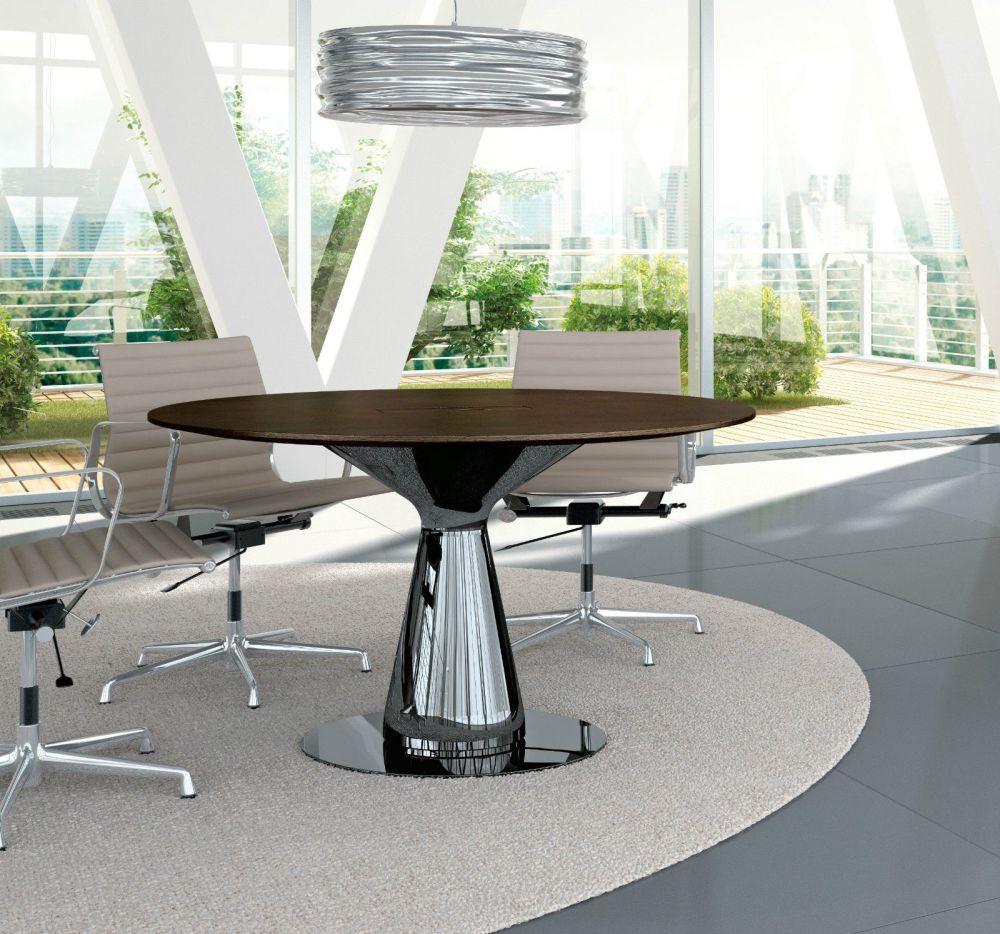 Konferenztisch Metar rund | Klassiker Direkt - Chefzimmer, Büromöbel ...