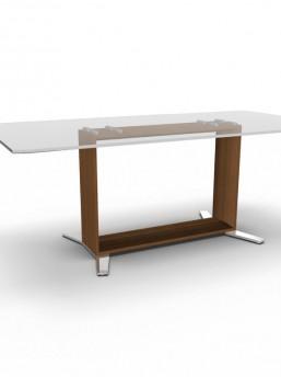 design schreibtisch arche glas b rom bel. Black Bedroom Furniture Sets. Home Design Ideas