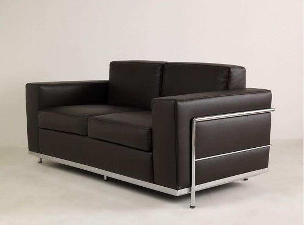 ledersofa bergamo 2 sitzer b rom bel. Black Bedroom Furniture Sets. Home Design Ideas