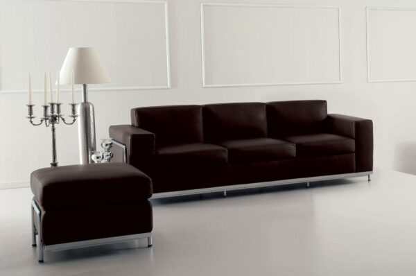 Design Leder Sofa