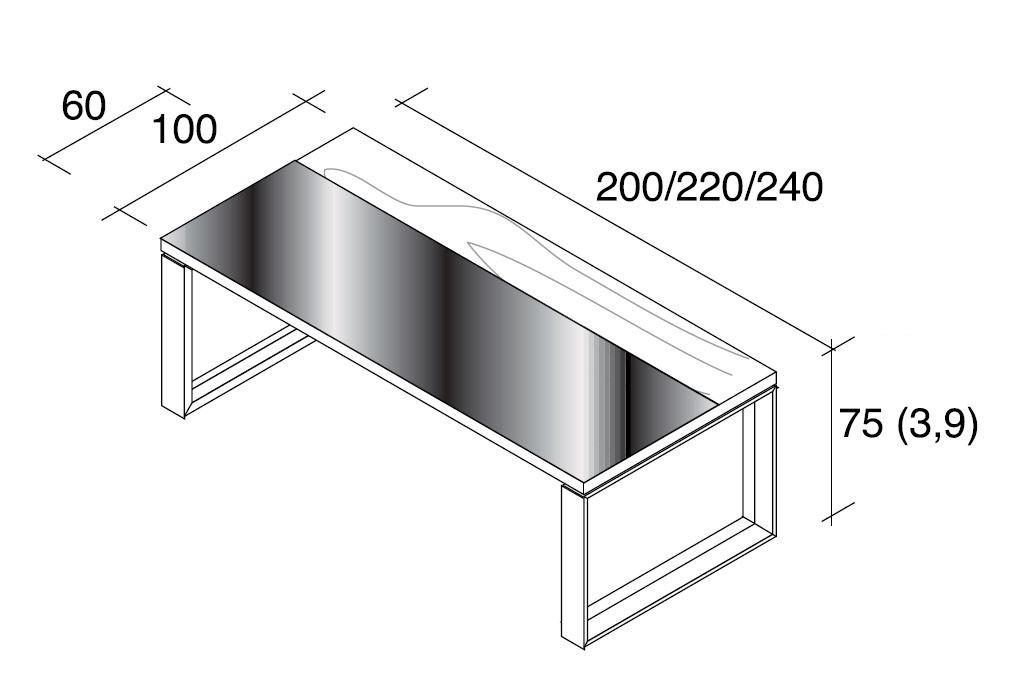 schreibtisch glas wohndesign und inneneinrichtung. Black Bedroom Furniture Sets. Home Design Ideas
