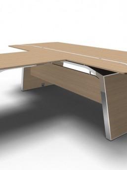 Schreibtisch mit Besprechungstisch Metar_3