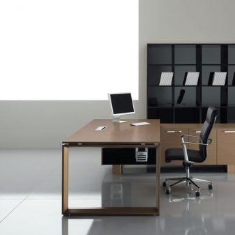 Schreibtisch mit Sideboard Arche