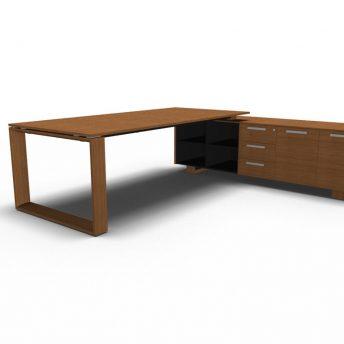 Schreibtisch mit Sideboard Arche_2