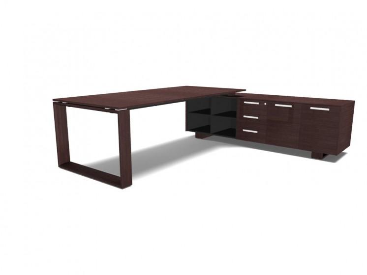 Schreibtisch mit Sideboard Arche_3