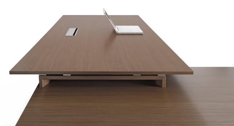 Schreibtisch mit Sideboard Arche_4