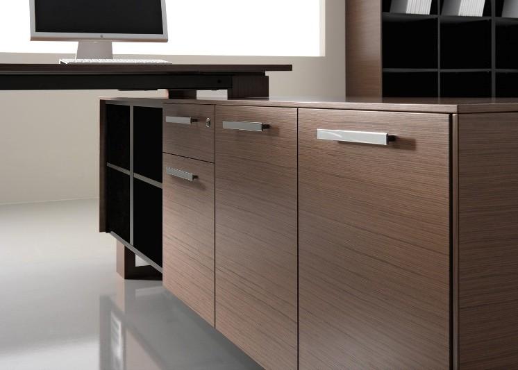 Schreibtisch mit Sideboard Arche_5