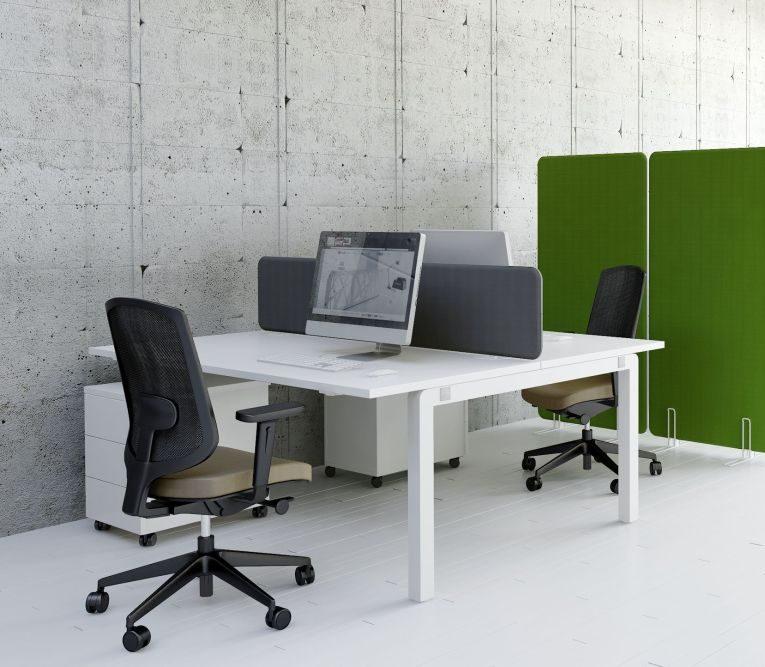 schreibtisch f r 2 personen yan c bench tisch b rom bel. Black Bedroom Furniture Sets. Home Design Ideas