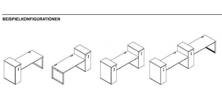 Container-Cargo-Beispielkofigurationen