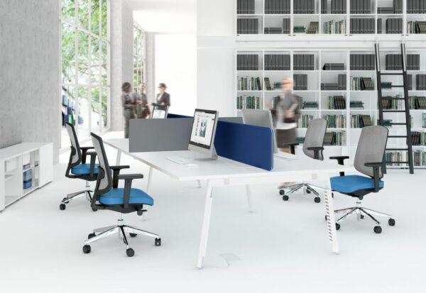 Schreibtisch 4 Personen