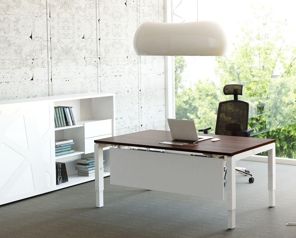 Höhenverstellbarer Schreibtisch Yan Bürotisch Büromöbel