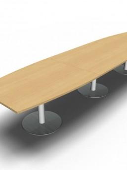 Konferenztisch mit Säulengestell_2