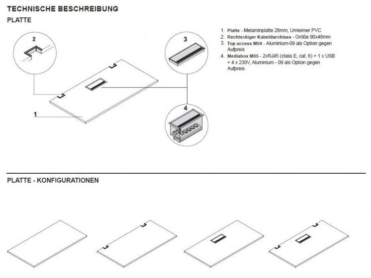 schreibtisch per kurbel h henverstellbar klassiker direkt chefzimmer b rom bel. Black Bedroom Furniture Sets. Home Design Ideas