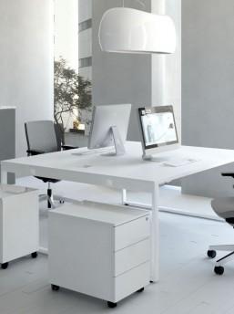 schreibtisch f r 2 personen yan z b rom bel b roeinrichtung. Black Bedroom Furniture Sets. Home Design Ideas