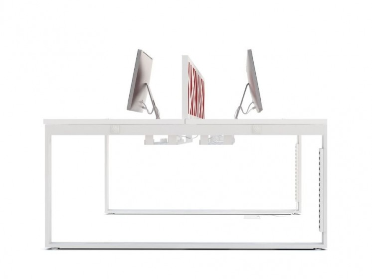 schreibtisch f r 2 personen yan z klassiker direkt. Black Bedroom Furniture Sets. Home Design Ideas