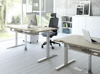 Schreibtisch höhenverstellbar YAN_T