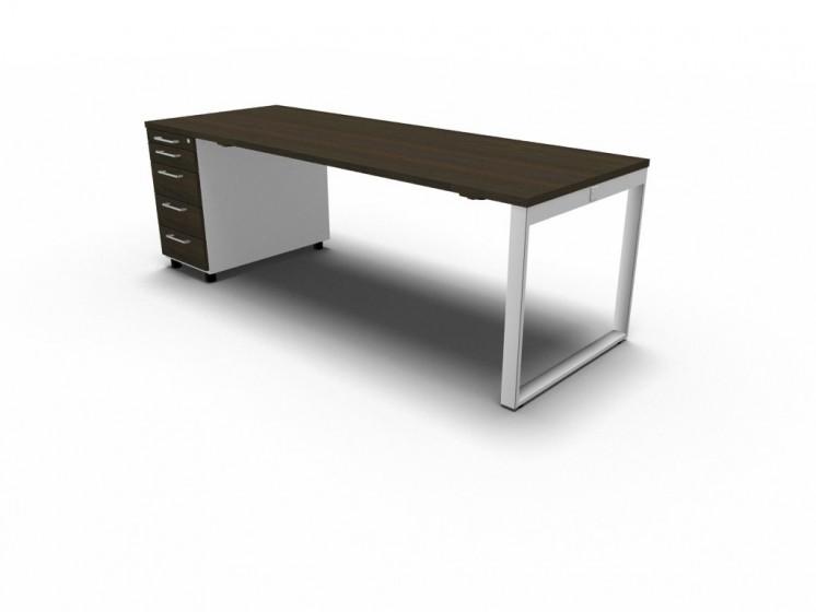 Schreibtisch mit Container YAN_Z_3