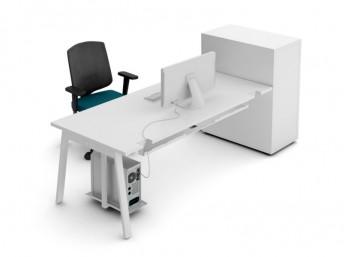 Schreibtisch mit Container YAN_M
