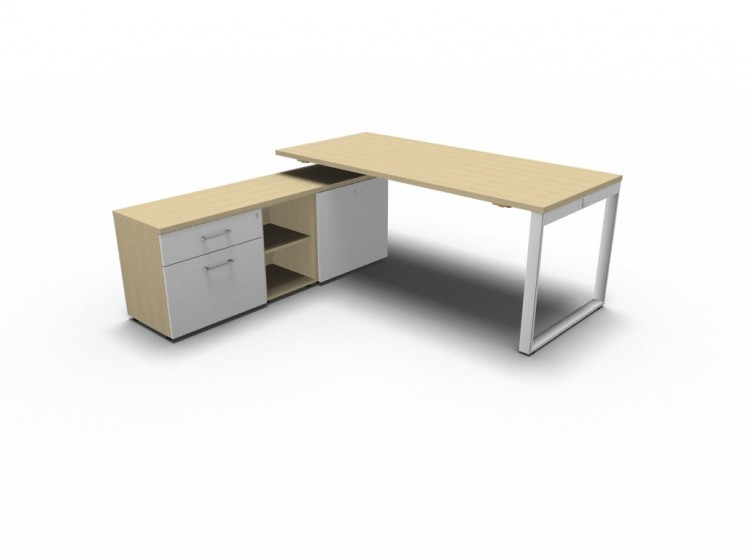 Schreibtisch mit Managerschrank Yan_Z_2