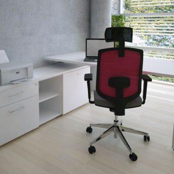 Schreibtisch mit Sideboard YAN_M