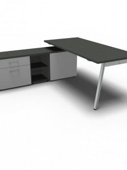 Schreibtisch mit Sideboard YAN_M_2